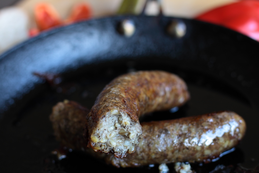 how to cook boudin blanc sausage